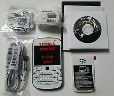 BlackBerry Bold 9900 - 8GB - White - (AT&T) Smartphone (QWERTY Keyboard) New