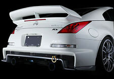 FIT 03-08 Nissan 350Z COUPE NISMO RS-S REAR TRUNK SPOILER WING PLASTIC W/ LED