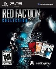 RED FACTION COLLECTION PS3 ACTION NEW VIDEO GAME