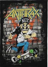 ANTHRAX BACKPATCH / SPEED-THRASH-BLACK-DEATH METAL