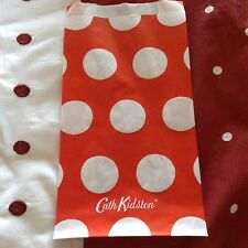 Cath Kidson bag - Wrapping Paper Bag Red And White