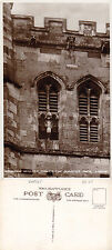 1940's THE QUARTER JACK TOWER WIMBORNE MINSTER DORSET UNUSED RP POSTCARD