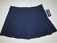 NEW w/Tag-Women's Navy Blue CHAPS Sport Skirt Sz 16