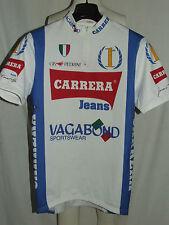 MAGLIA BICI CICLISMO SHIRT MAILLOT CYCLISM TEAM CARRERA VAGABOND tg. XL