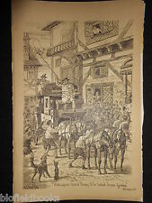Impression sportive Librairie de courrier stade / Stagecoach (fore's notes / sport c1886)