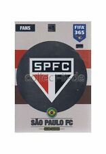 Panini Fifa 365 Cards 2017 - 113 - Club Badge - Club Badges - Sao Paulo FC