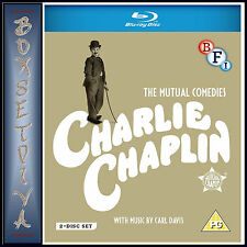 CHARLIE CHAPLIN: THE MUTAL FILMS COLLECTION- LIMITED ED **BRAND NEW BLU-RAY**