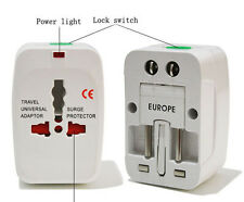 2016 International Universal Travel Power Plug AC Adapter Converter UK US EU AU