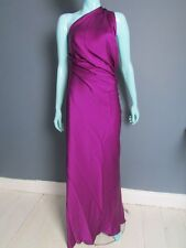 YVES SAINT LAURENT EDITION EVENING SIZE 12 UK SILK EVENING DRESS MADE IN FRANCE