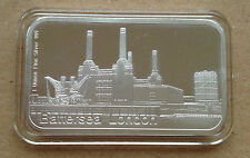 1oz Pure Silver 999  Bar -BATTERSEA LONDON  (9)'
