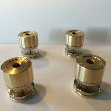Magnetic levitation adjustable 4x15Kg load feet for hifi isolation