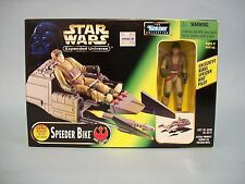 Star Wars Expanded Universe POTF Speeder Bike w/figure Kenner 1997