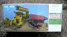 GALACTIC PATROL LENSMAN GRAPPLER AND SHUTTLE TRUCK 1/72 MODEL KIT TOMY  JAPAN