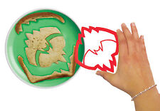 Evriholder BatBytes Bat Man Logo Shape Sandwich Bread Crust /Cookie Cutter - RED