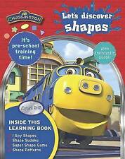 LET'S DISCOVER SHAPES Chuggington Children's Activity Book with POSTER Learning