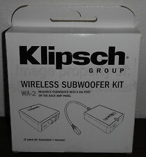NEW Klipsch WA-2 Wireless Adapter Kit for R-110SW, R-112SW, R-115SW Subwoofers