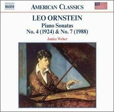 Orenstein: Piano Sonatas (CD, Jul-2002, Naxos (Distributor))