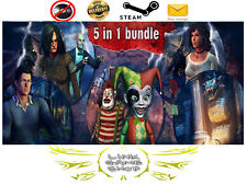Hidden Object Bundle 5 in 1 PC Digital STEAM KEY - Region Free