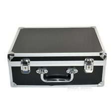 Pro Large Luxury  Aluminium Tattoo Set Kit Supplies Empty Carry Box Case Storage