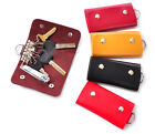 Modish Design Car Key Chain PU-Leather Skin Holder Cover Case Bag Purse Pouch