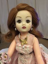 MADAME ALEXANDER CISSY DOLL IN PEONY AND BUTTERFLY WEDDING GOWN PINK