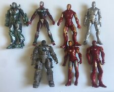 "Marvel Universe Iron Man 2 3.75"" Action Figure Lot Of 5 2010 Hasbro"