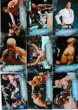 2010 Topps UFC Main Event 150 Card Set Brock Lesnar Randy Couture Anderson Silva