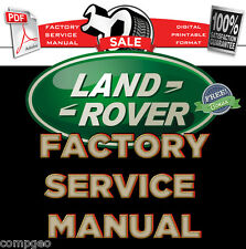 LAND ROVER DISCOVERY 3 LR3 2005 2006 2007 2008 SERVICE MANUAL WORKSHOP + WIRING