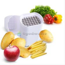 New Kitchen Fries One Step French Fry Cutter Potato Vegetable Fruit Slicer Tool