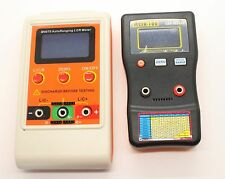 New Capacitor Capacitance ESR Meter Tester Combo DMM MESR-100 + M4070 LCR meter
