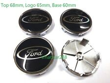 68mm 65mm Alloy Wheel Centre Cap x4 New Alloy Wheel Centre Caps NAVY for FORD
