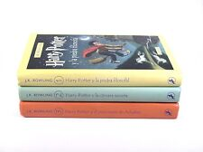 Harry Potter 1-3 Hardcover Spanish Salamandra Camara Secreta Piedra Filosofal