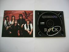 QUIREBOYS - ROCK CHAMPIONS - CD EXCELLENT CONDITION AUTOGRAPHED
