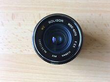 Soligor wide-auto distancia focal de 28 mm 1:2,5 con Pentax K puerto
