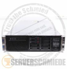 HP Proliant DL380p G8 x8 16x 4 GB 2x Xeon E5-2650 8-C 2x 240GB SSD Server