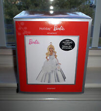 American Greetings 2013 HOLIDAY BARBIE Doll Ornament 25th Anniversary Carlton