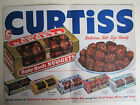 Vintage 1950's Advertising Grocery Sign CURTISS BABY RUTH BUTTER FINGERS BITE SZ