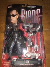 "Marvel Comics ""Blade"" Action Figure With Anti Vampire Weapons Collector Edition"