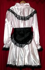Lolly Maid heavy shiny satin sissy maids LILLY  dress TV underskirts & wig