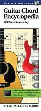 Guitar Chord Encyclopedia: 36 Chords in Each Key, Comb Bound Book by Hall, Stev