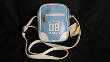 LIMITED EDITION Original 08 Classic Blue & White Faux Leather Side Hand Bag