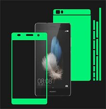 Glow in the Dark Skin Protector,Full Body Vinyl Decal Case Wrap, Huawei P8 Lite