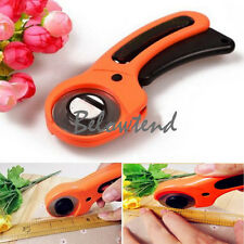 Useful 45mm Rotary Cutter Fabric Cloth Cutting Tool Quilters Sewing Blade 1pc
