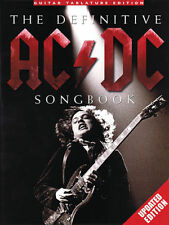 The Definitive AC/DC Songbook Updated Edition Guitar Tab Book NEW!