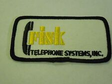 Vintage Fisk Telephone Systems, INC Sewing Iron On Patch