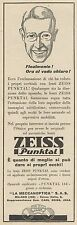 Z3071 Lenti ZEISS Punktal - Pubblicità - 1933 old advertising