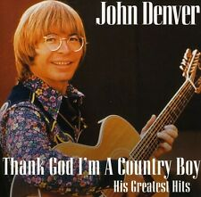 Thank God I'm A Country Boy-His Greatest Hits - John Denver (2010, CD NEU)