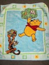 Disney Winnie the Pooh Tigger Infant Baby blanket 36 x 38 #3