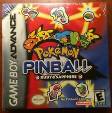 Pokemon Pinball: Ruby and Sapphire (Nintendo Game Boy Advance, 2003) NEW/SEALED