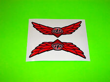 KXF RMZ YZF CRF 250 450 TROY LEE DESIGNS MOTOCROSS FLIGHT WING STICKERS DECALS